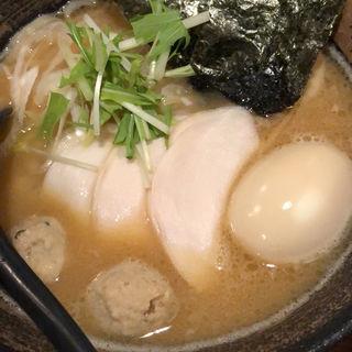 特製全部入り濃厚鶏骨醤油そば(麺屋武一 (たけいち))