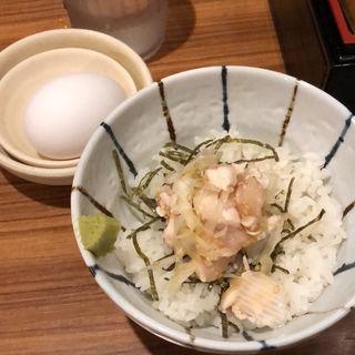 鳥ササミ丼(麺屋武一 (たけいち))