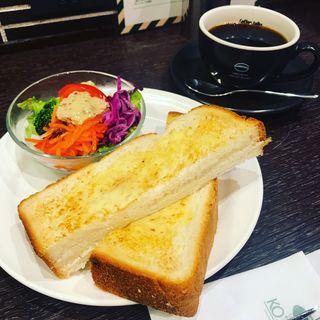 トースト&ゆで卵(珈琲館 祖師ヶ谷大蔵店)