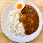 野菜・肉ゴロゴロ カレーライス(木曜日のお弁当)(まちカフェ あい)