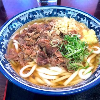 牛肉うどん(麦の城 )