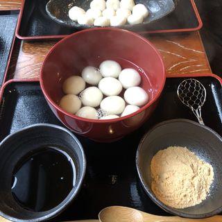 釜揚げしら玉生麩(加賀麩不室屋 東山店)