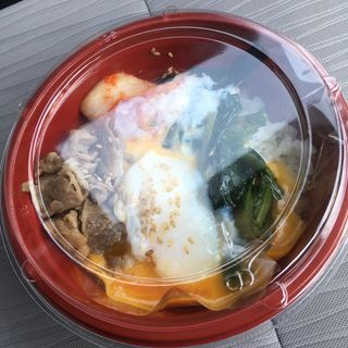ビビンバ丼(大衆焼肉 日赤通りのたまや)