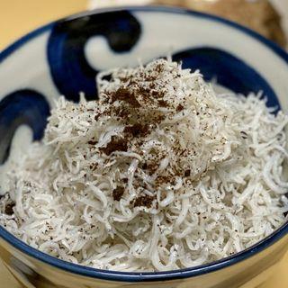 ミニしらす丼(幸軒)