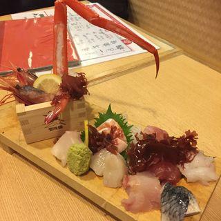 漁師町の刺身板盛(北海道海鮮にほんいち 西中島店 )
