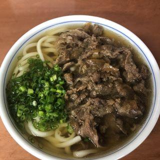 和牛肉うどん(山田製麺 こなみ)