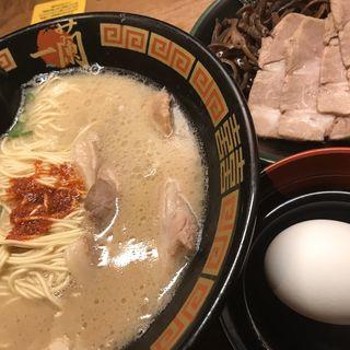 ラーメン(一蘭 札幌すすきの店)