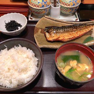 焼き魚定食(やまや 博多店 )