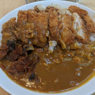 チキンかつカレー(松家カレー )