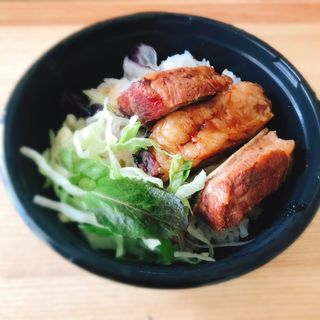 スペアリブ丼(アメリカンクラブハウス 都立大学店 )