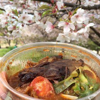 クミントマトベジカレー牛ホホのせ(スパイス料理イデマツ)