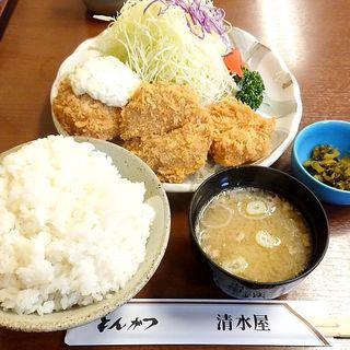 ヒレかつ定食(清水屋 (しみずや))