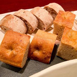 パンの盛り合わせ(リストランテ センソ )
