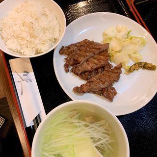 牛たん定食(牛たん 杉作)