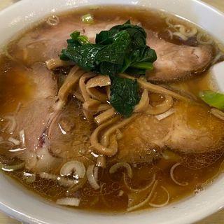 ワンタンチャーシュー麺(若松飯店 (ワカマツハンテン))