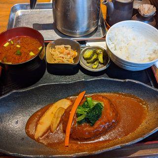 煮込みハンバーグ(日替わり)(美味 酒彩 武蔵乃 (びみ しゅさい むさしの))
