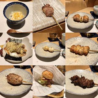 おまかせ串焼きコース(鳥匠 いし井)