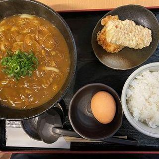 上々のお昼の定食(Bランチ)(うどん上々 )
