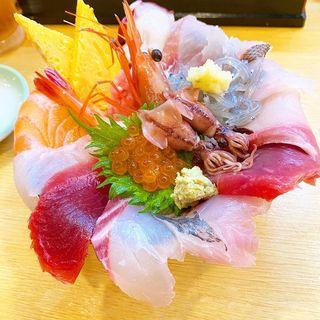 特海鮮丼(海商寿し (かいしょうずし))