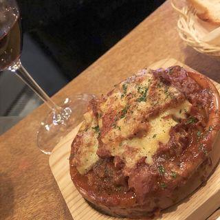 ハチノスのトリッパ スパイシーオーブンチーズ焼き(ワインホール神田小西 )