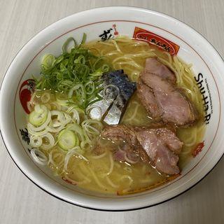 鯖背脂醤油ラーメン(福島壱麺 (イチメン))