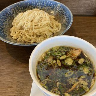 濃口醤油つけ麺(小麦と大豆 自家製麺 麺や ひなた)