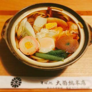 鍋焼きうどん(大菊 總本店 (おおぎく))