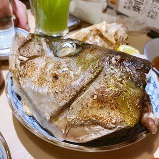 カマ塩焼き(寿司センター)