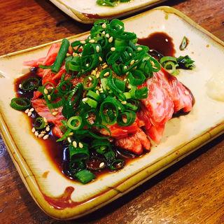 ユッケ風ステーキ(串まつ屋 (クシマツヤ))