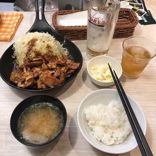 トンテキ定食(トンテキ食堂8)