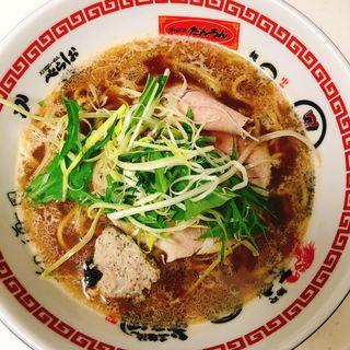名古屋コーチンとあさりの醤油ラーメン(テイクアウト)(オコメノカミサマ )