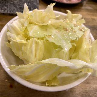 塩たれキャベツ(七輪焼肉 安安 札幌南3条店)