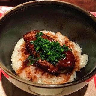 フォアグラ丼(シノワ 銀座店)