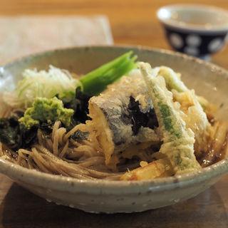 野菜天おろし(手打蕎麦 守破離 堂島店)