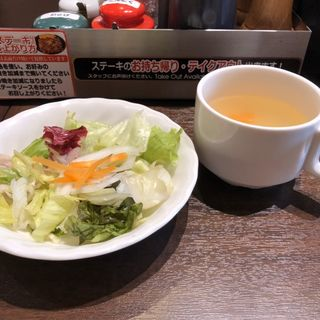 スープ&サラダ(いきなりステーキ 福岡箱崎店)