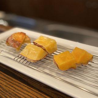 安納芋、サツマイモ(旬彩 天ぷら 心来(しんら) )