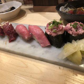 肉トロ 3種盛り