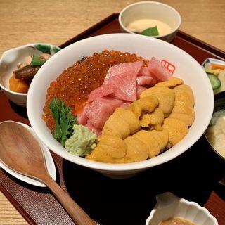 ぜいたく丼(田中田 西麻布店 (タナカダ))