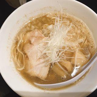 煮干し中華そばnormal(煮干し中華そば のじじR 本所吾妻橋)