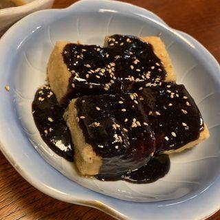 豆腐田楽(田舎茶屋)