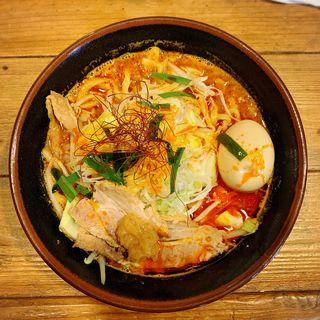野菜盛 唐唐郎らー麺(唐唐郎)