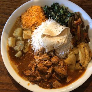 スリランカプレート(フィッシュ)(Curry & Cafe Afterglow(アフターグロウ))