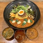 ろかプレート限定+ぷちカレー3種