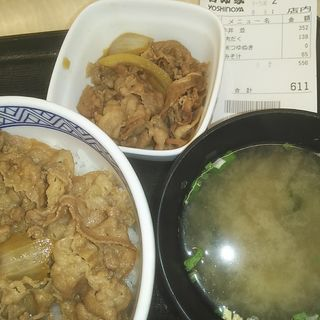 肉だく牛丼(並盛)(吉野家 西葛西駅1番街店 )