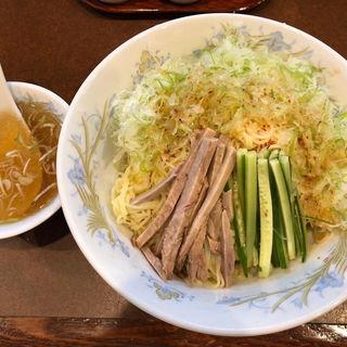 冷し葱そば(鶏舎 (チイシャ))