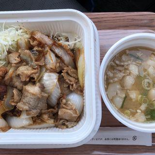 牛バラチキンカツ弁当(かつや 宇都宮インターパーク店 )