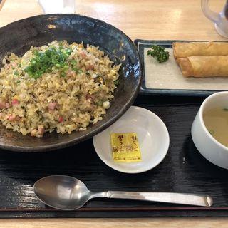 ベーコン高菜チャーハン(チャーハン専門店 こう米)