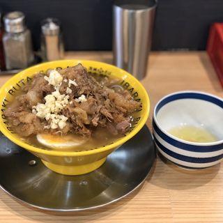 豚そば(茨城豚そば特龍)