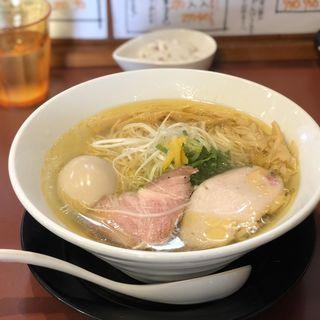 淡麗中華そば塩(麺童豊香 )