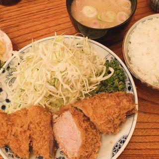 棒ヒレカツ定食(とんかつ河 本店)
